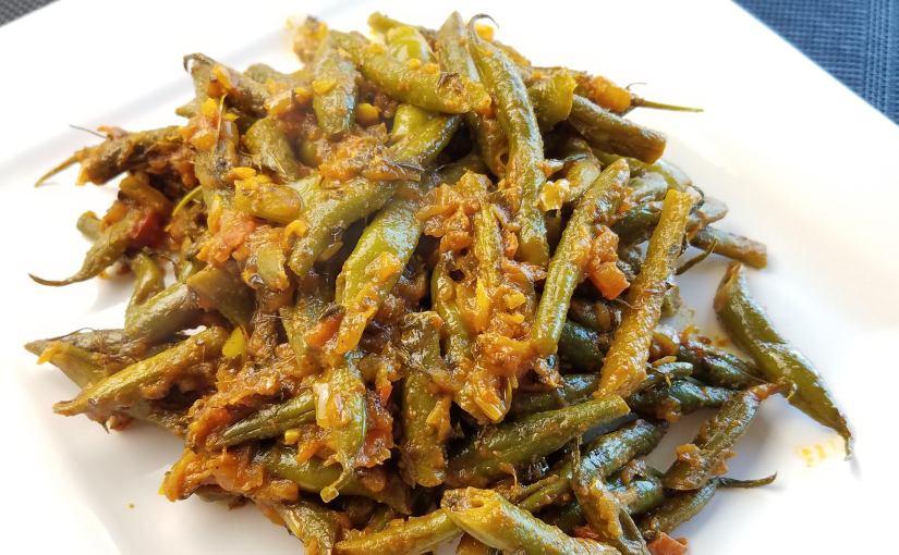 Masala Green Beans