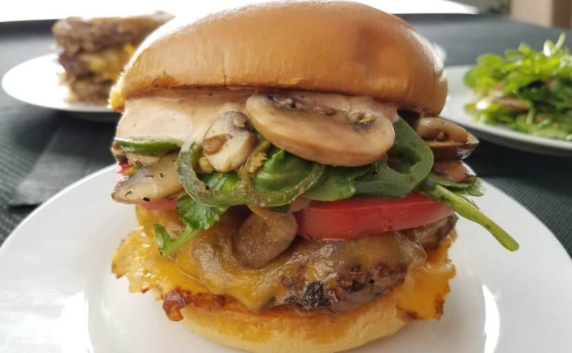 Mary's Peak Burger