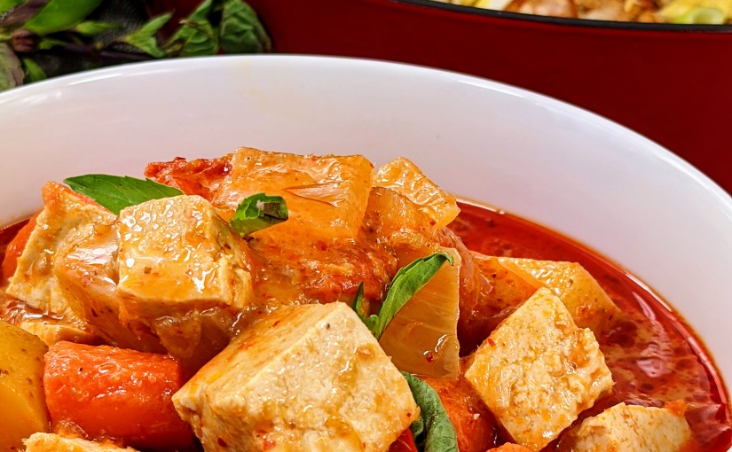 Red Curry withTofu