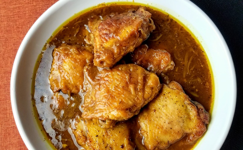 Baked Chicken in IndianSpices
