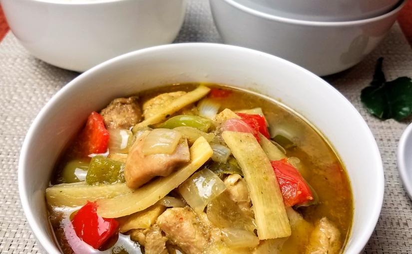Thai Green CurryChicken