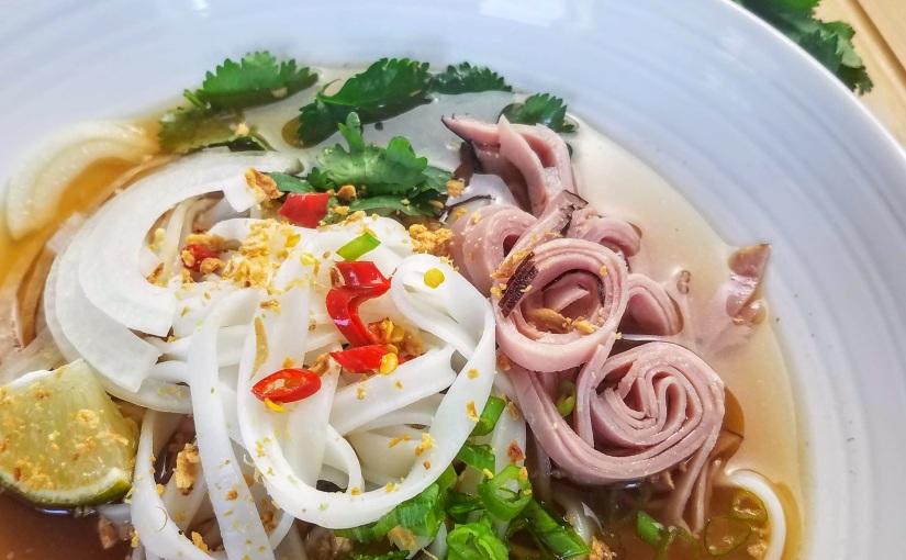 Vietnamese Noodle Soup with Ham(Pho)