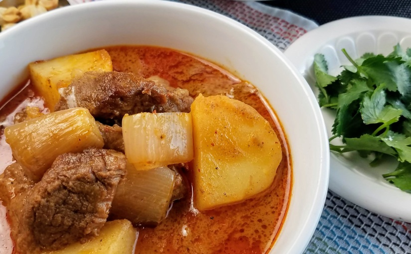 Massaman Curry withBeef