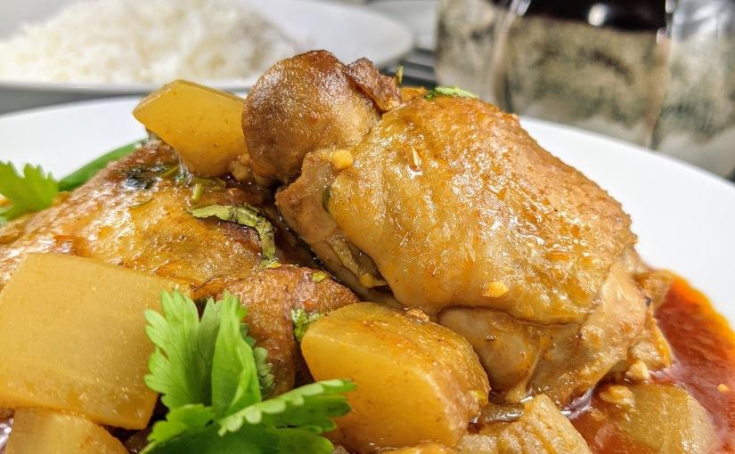 Lau Murgi (Chicken with BottleGourd)