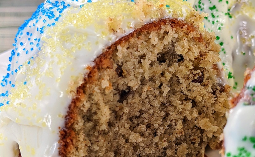 Banana Bread with Cream CheeseFrosting