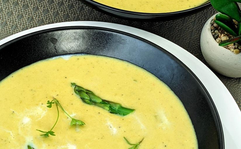 Curried Asparagus Soup