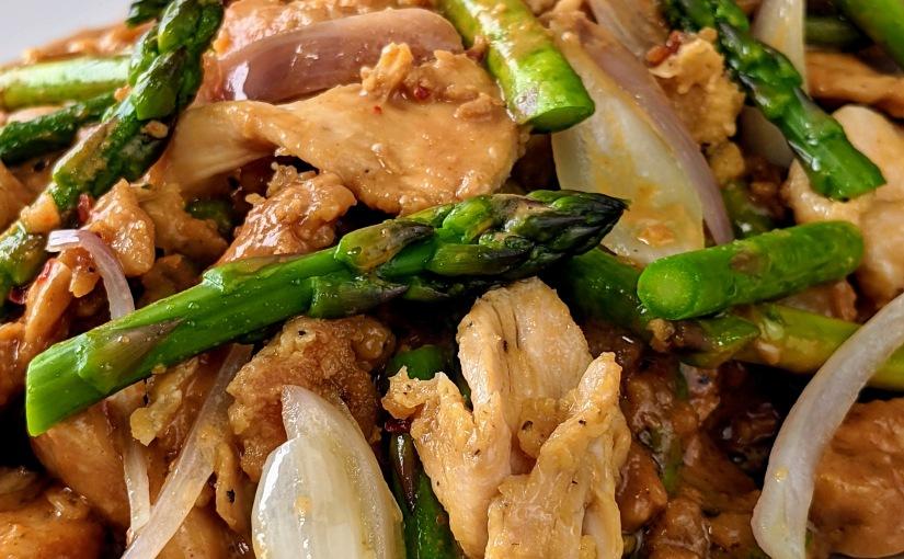 Stir fry Chicken withAsparagus