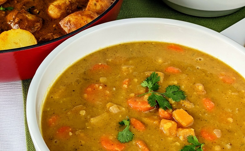 Lentils with ButternutSquash