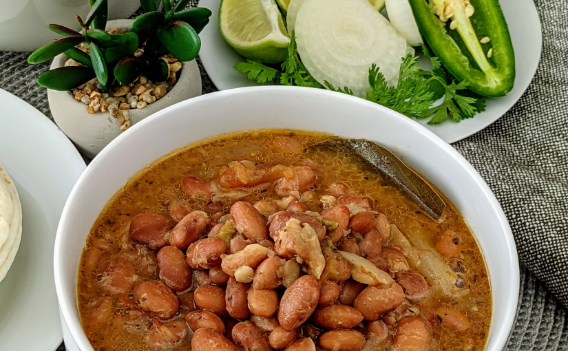 Slow Cooked PintoBeans